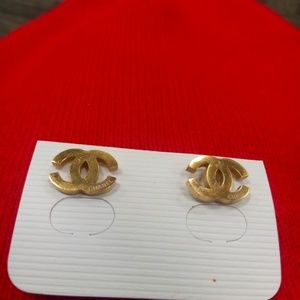 Gold Vintage Earrings